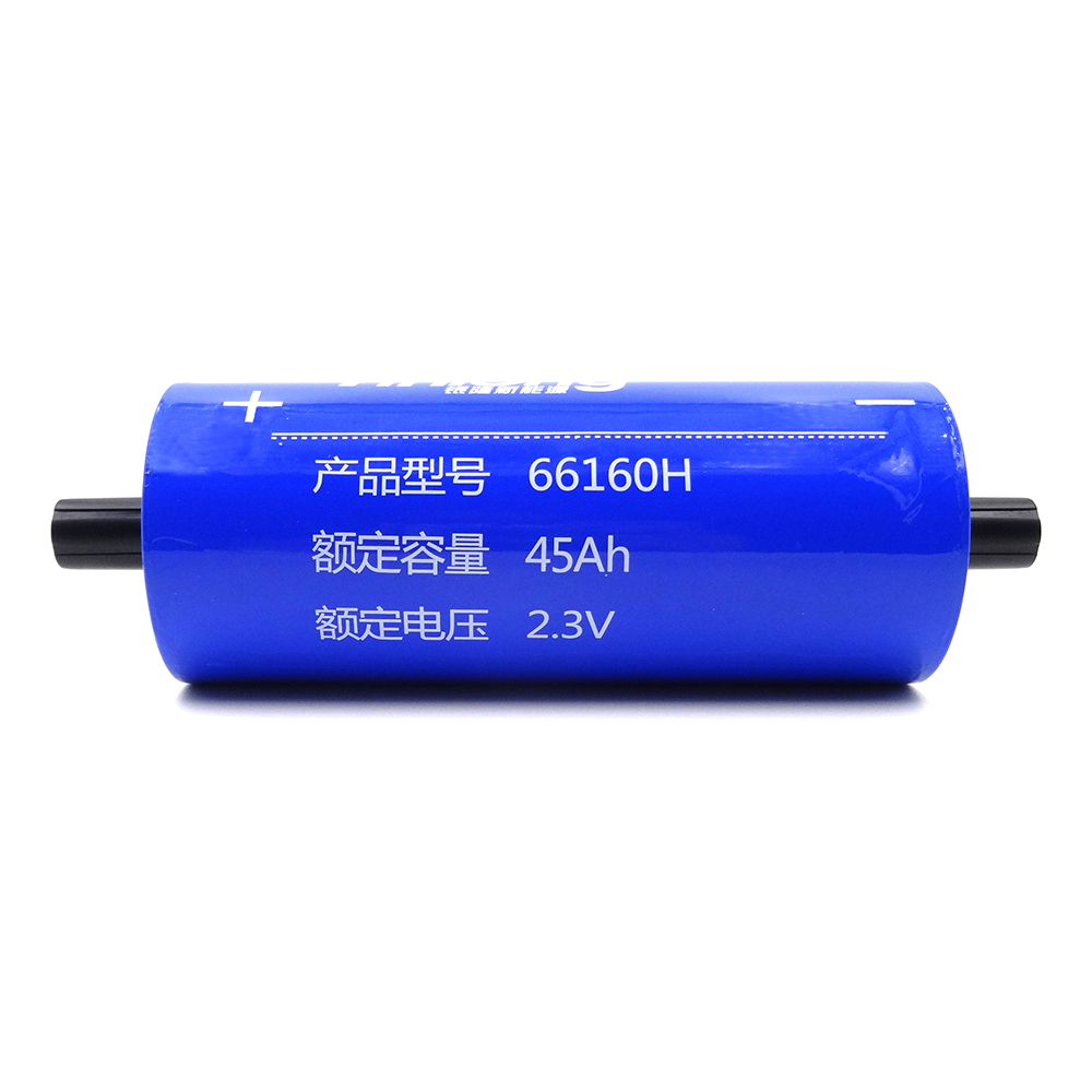 LTO66160-45AH 2.3V Lithium Titanate battery cell,High Discharge Rate Long Cycle Life