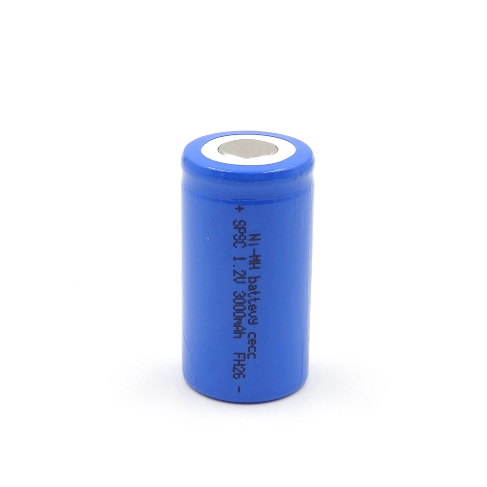 SL-A3000mAh 1.2V Ni-MH high-rate battery cell Maximum discharge current up to 30A,PVC colors are available: red, green, blue, pink, gray, black, white