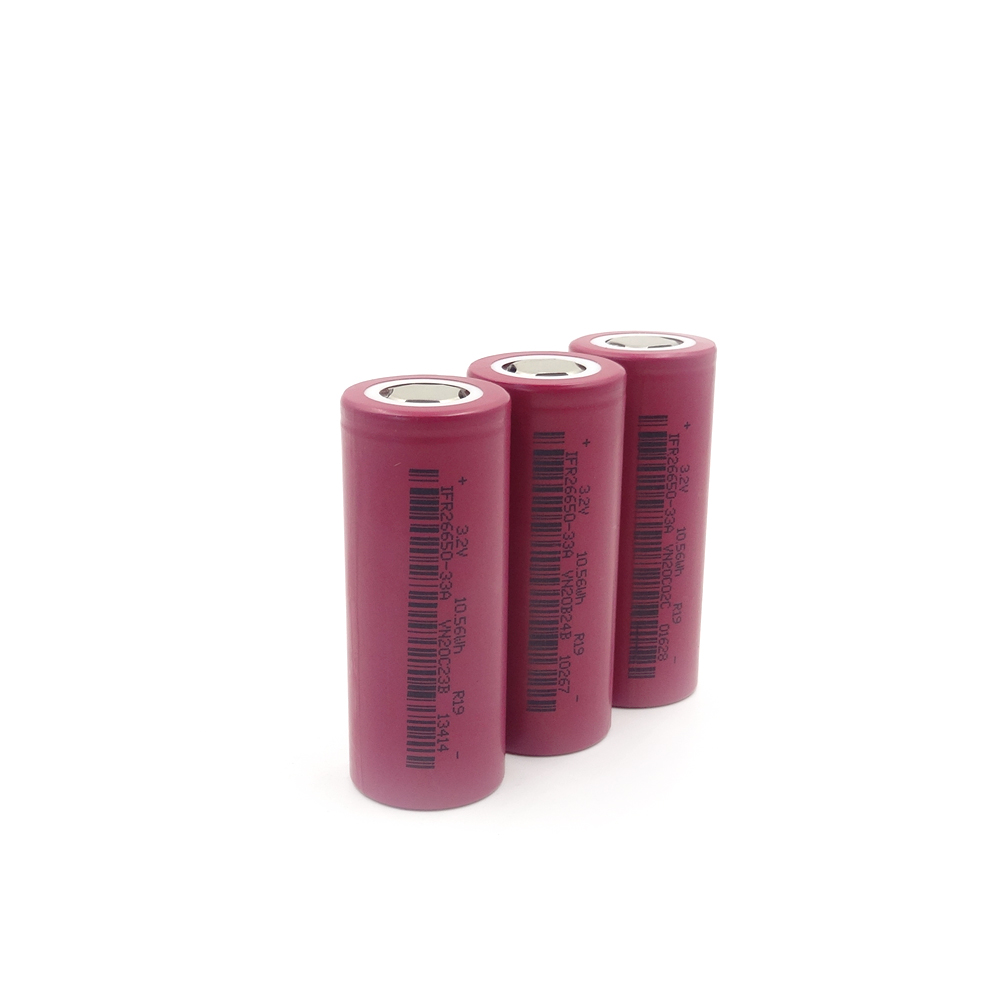 SPIFR26650-3300mAh 3.2V  LiFePo4 battery cell,Maximum continuous discharge current up to 3C