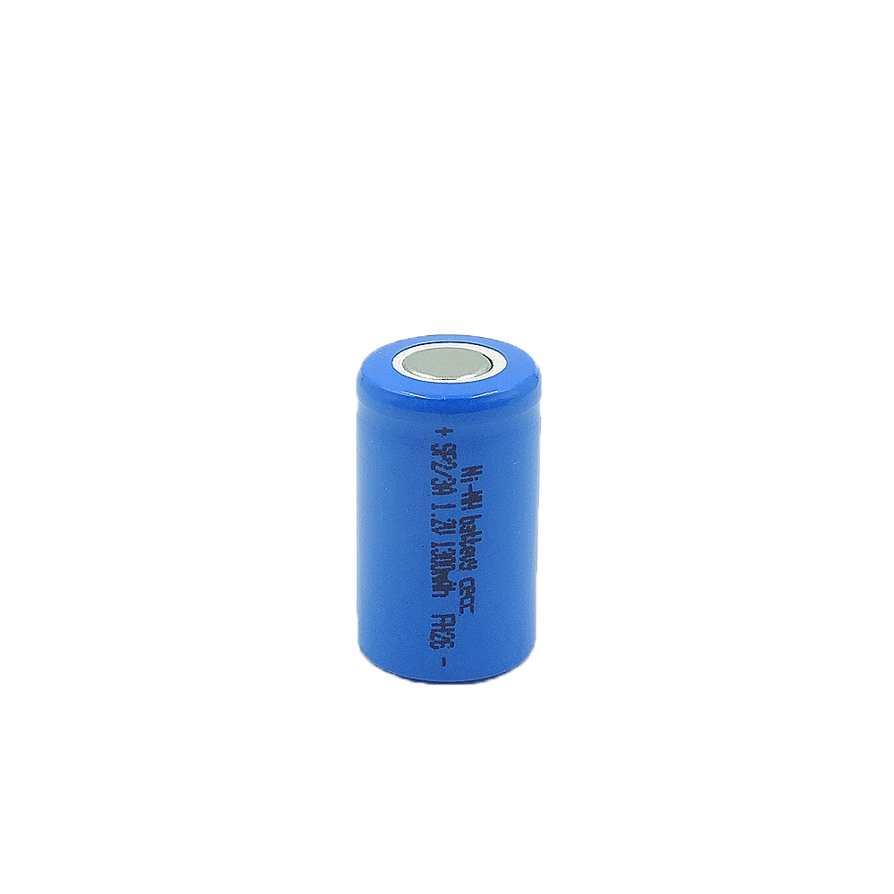 SL/3A-1300mAh 1.2V Ni-MH high-rate battery cell  Maximum discharge current up to 13A,PVC colors are available: red, green, blue, pink, gray, black, white