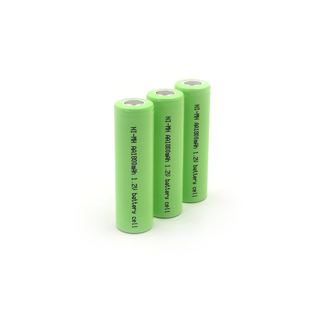 SL-AA1800mAh 1.2V Ni-MH high-rate battery cell,Maximum discharge current up to 9A(5C),PVC colors are available: red, green, blue, pink, gray, black, white