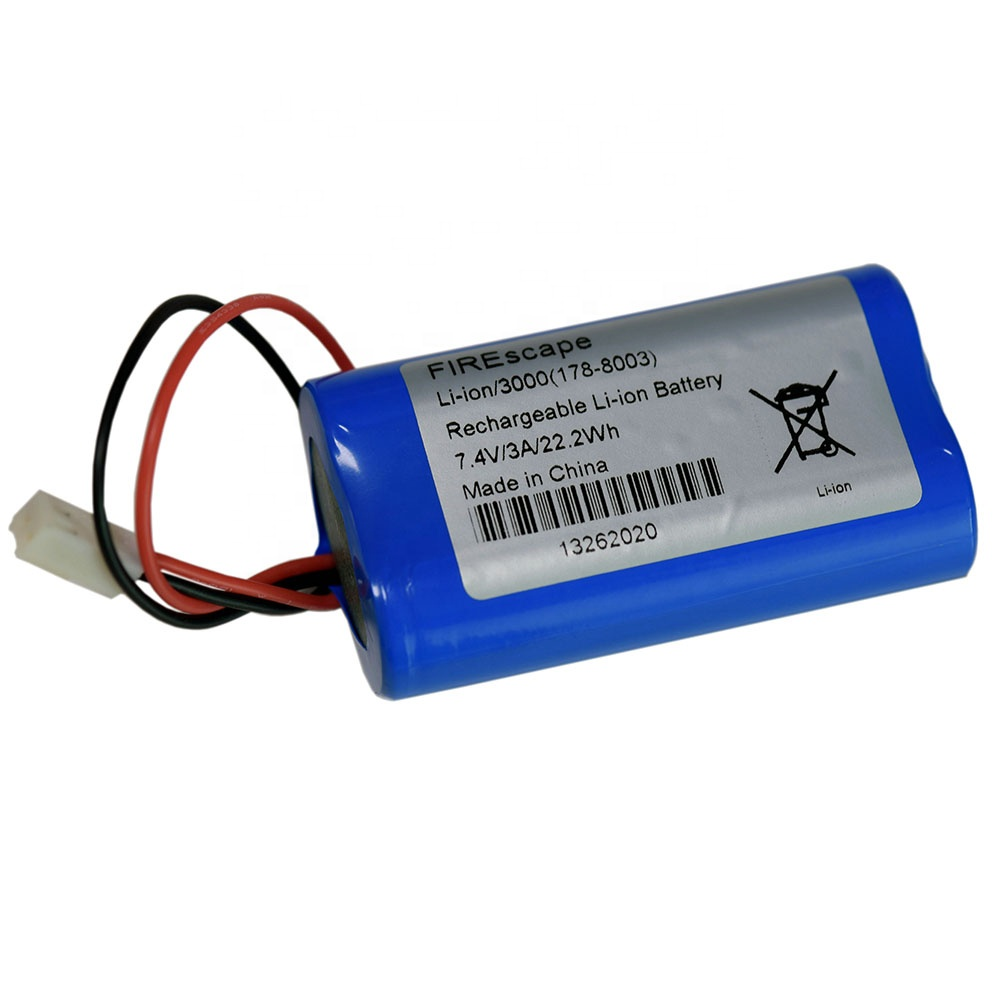 SL0703 7.2v 3200mah 18650 lithium li ion battery pack,Plugs can be customized according to requirements