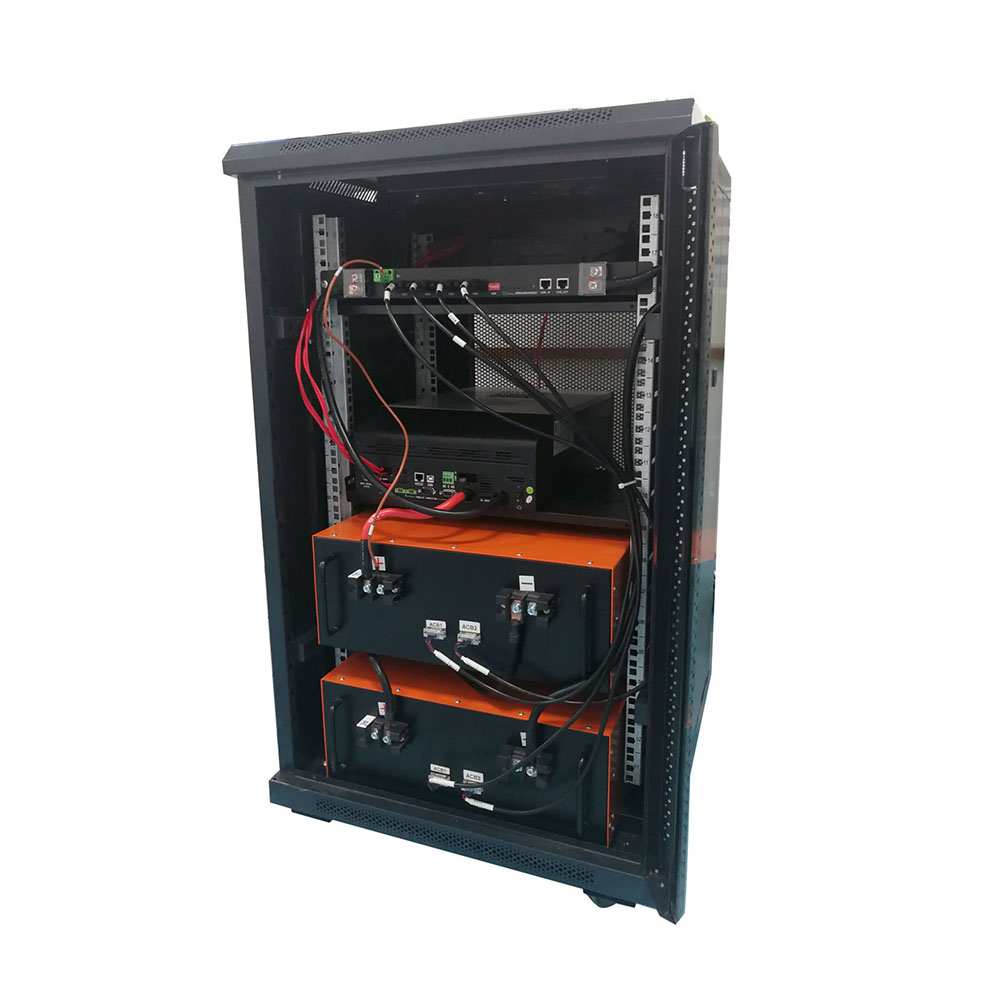 SL-DD48200-7U Lithium iron phosphate battery pack ,Including cabinet and inverter,Cycle life 1500 times