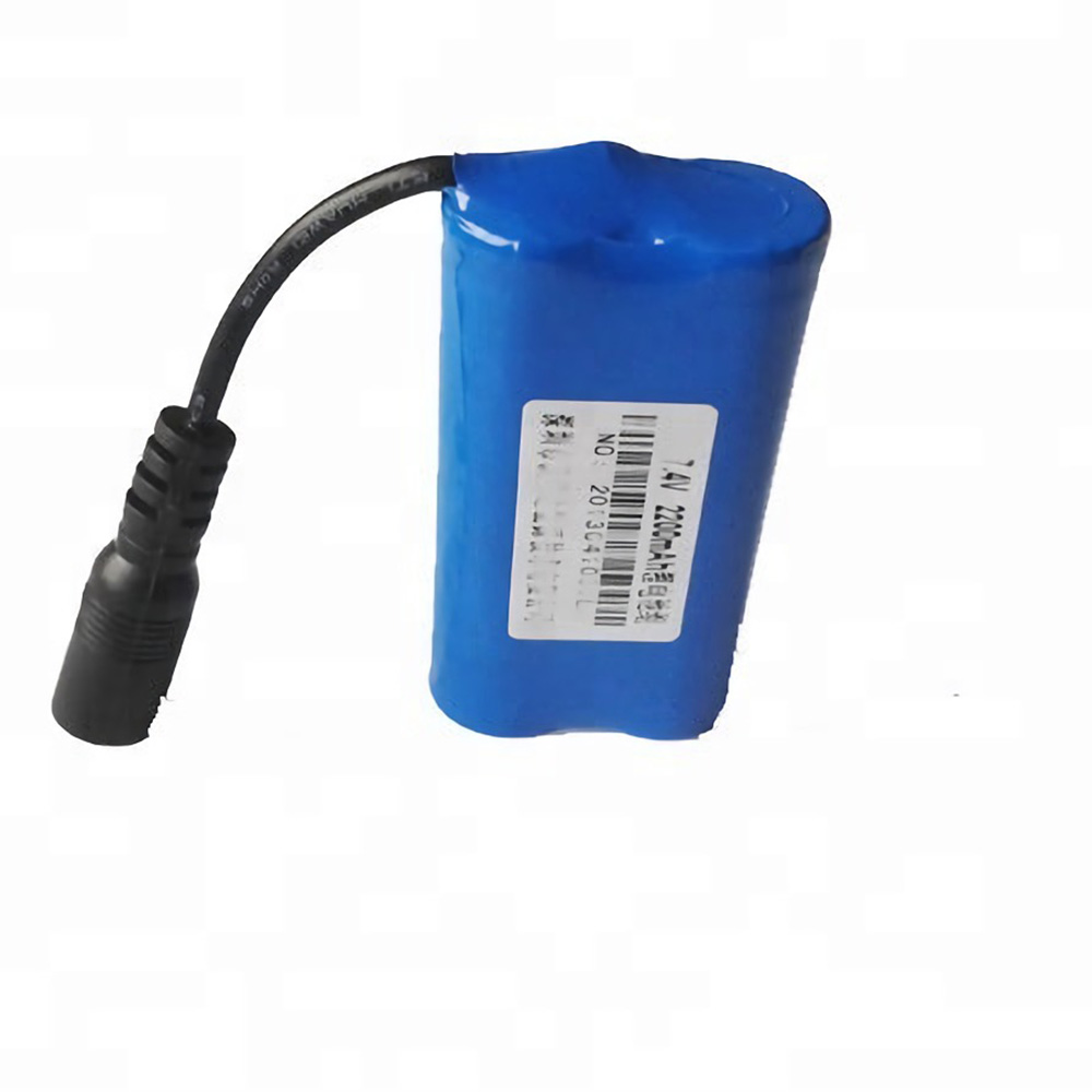 SL0702C 7.3v 2600 18650 lithium li ion battery pack